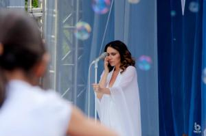 Maria Rita se emociona durante apresentação em BH