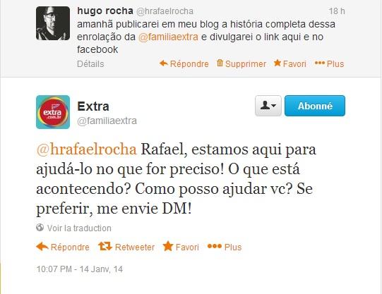 Resposta via Twitter (14/1/2014)